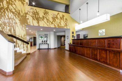 Sleep Inn Lexington Lobby