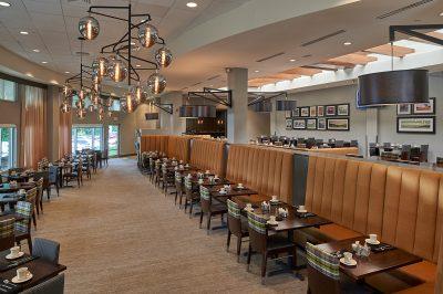 Hilton Inn Breakfast Area