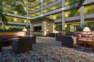 Embassy Suites Lexington Lobby