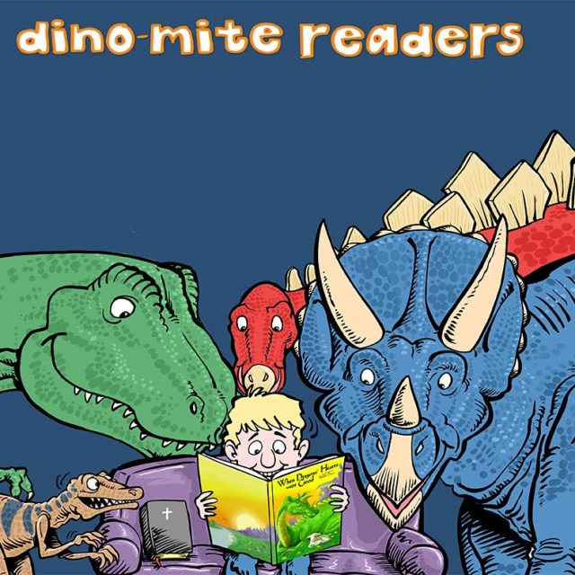 CREATION MUSEUM- Dino-Mite Readers: The Creator's Gift